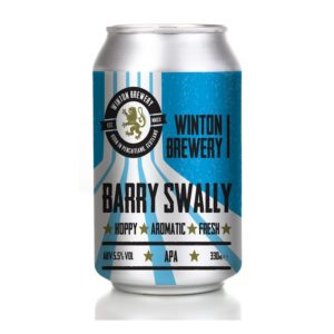 Winton Brewery, Barry Swally can 330ml