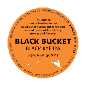Kinnegar, Black Bucket, Black rye IPA 440ml